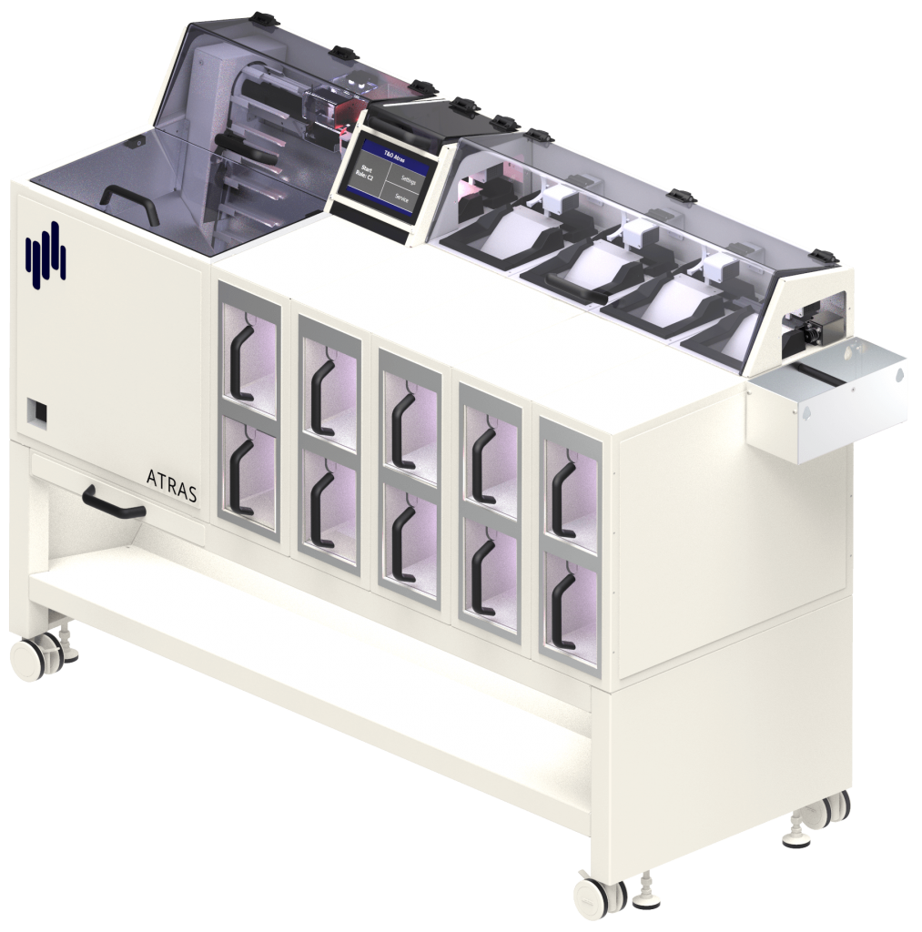 ATRAS automatisiert effizient Probeneingang