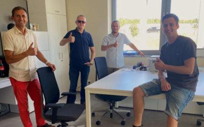 Daumen hoch: Gründung der T&O Tochtergesellschaft in Polen