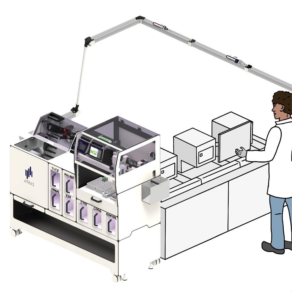 Process optimization of individual work areas - example hematology